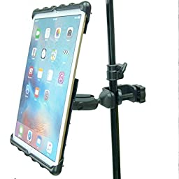BuyBits Music / Microphone Stand Tablet Clamp Mount Holder for iPad Pro 12.9\