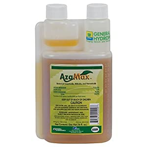 GH2021 Azamax Antifeedant and Insect Growth Regulator, 1-Quart by General Hydroponics