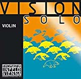 Thomastik Vision Solo 4/4 Violin String Set &#8211; Medium Gauge &#8211; with Silver Wound D String