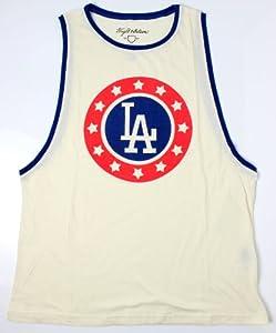 Los Angeles Dodgers MLB Ladies Jett Sleeveless Crew Neck Tank Top by Wright & Ditson