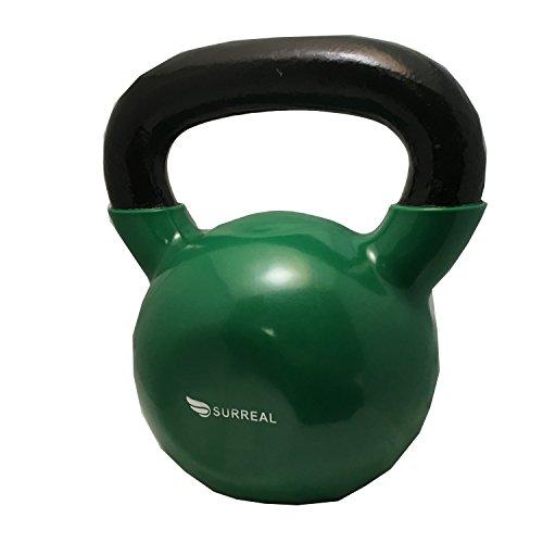 2kg-24kg FXR Sports Black Vinyl Plastic Kettlebells