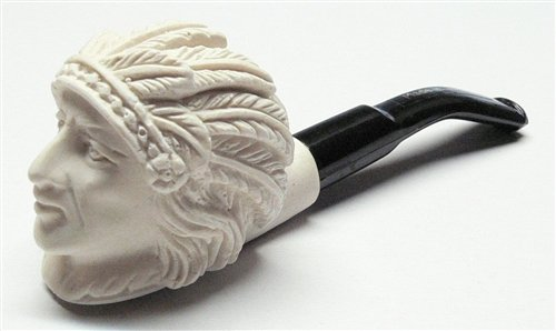 Small Hand Carved Indian Meerschaum Pipes