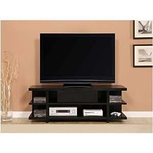 Altra 1181096 Hollow Core TV Stand, 60-Inch, Black