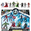 Marvel Exclusive Action Figure 8-Pack The Avengers [Iron Man, Thor, Captain America, Hulk, Black Widow, Hawkeye, Nick Fury & Loki]