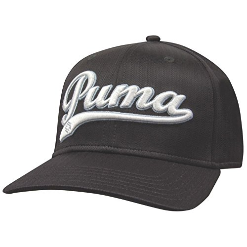 Puma Golf Script Cool Cell Relaxed Cap, Black