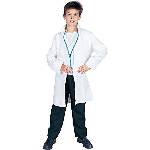 White Lab Coat Kids Costume