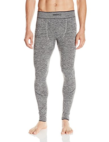 Craft Men's Active Comfort Base Layer Pants, Black, Small