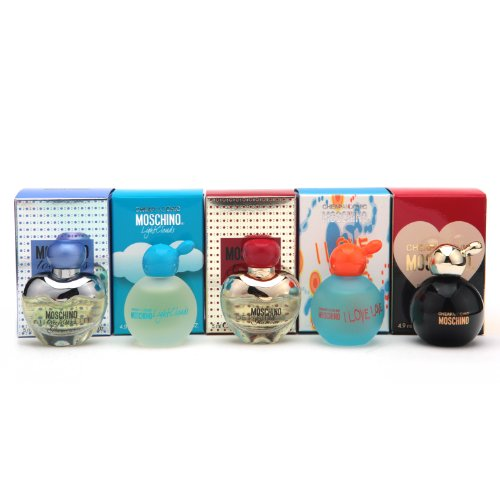 Moschino 5 Miniature Collection Set
