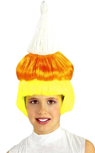 Girls Candy Corn Wig