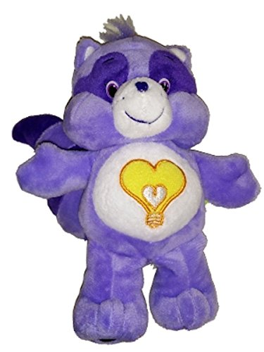 [Care Bear Cousins Bright Heart Racoon 8 Inch Plush] (Care Bear Plush)