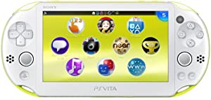 PlayStation Vita Wi-Fi Lime Green/White PCH-2000ZA13(Japan Import) by sony