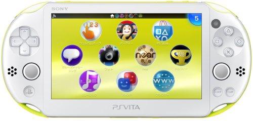 PlayStation Vita Wi-Fiモデル ライムグリーン/ホワイト (PCH-2000ZA13)