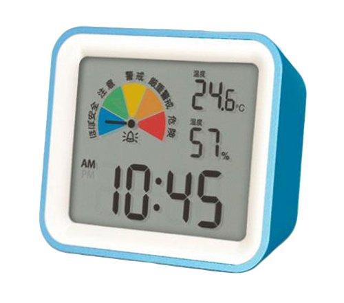 MONDO(モンド) 卓上型熱中症計 ブルー×ホワイト・DH03‐BL 822747