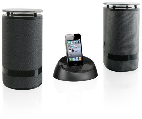 Ilive Wireless Speaker System For Ipod/Iphone - Black