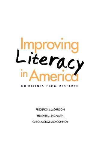 Improving Literacy in America: Guidelines from Research (Current Perspectives in Psychology)