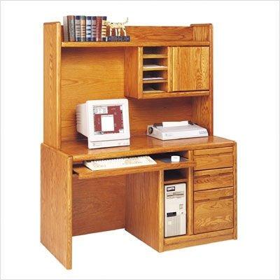 Buy Low Price Comfortable Martin Furniture Set VlII Contemporary 56″ W Deluxe Computer Desk and Organizer Hutch (B000XPCUZK)
