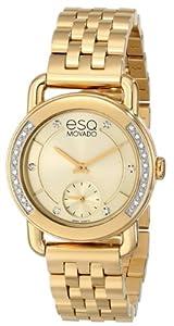 ESQ Movado Women's 07101465 ESQ Classica Analog Display Swiss Quartz Gold Watch
