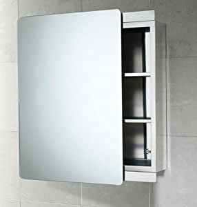 gedy space saving stainless steel bathroom cabinet with