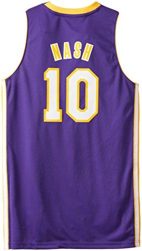 54b6f593e NBA Los Angeles Lakers Men s Steve Nash Swingman Purple Jersey ...