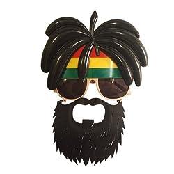 Funcart Funky Glasses With Beard Sunglasses