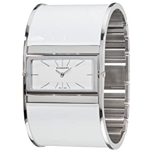 Burberry Women's BU4938 Reversible White Bangle Watch