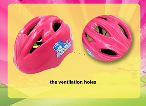 Rainbow flower Child safety helmet thickening adjustable helmet men and women