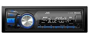 JVC KD-X250BTE Autoradios 200 W Bluetooth, En Façade