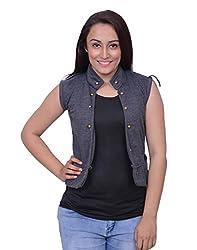 Snoby Grey Half Jacket (SBY11014)