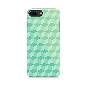 3D Cubes Back Cover Case for Apple iPhone 7 Plus