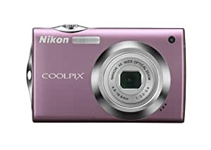 Nikon Coolpix S4000 12 MP Digital Camera with 4x Optical Vibration Reduction (VR) Zoom and 3.0-Inch Touch-Panel LCD (Pink)