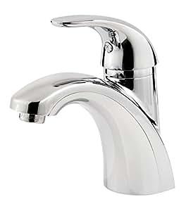 "Pfister Parisa Single Control 4"" Centerset Bathroom Faucet, Polished Chrome"