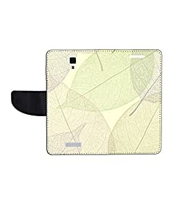 KolorEdge Printed Flip Cover For Gionee Pioneer P4 - Multicolor(45KeMLogo8002GioneeP4)