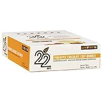 22 Days Nutrition - Pineapple Chocolate Chip Wonder, 12 bars