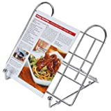 Chrome Cook Book Stand - Folding
