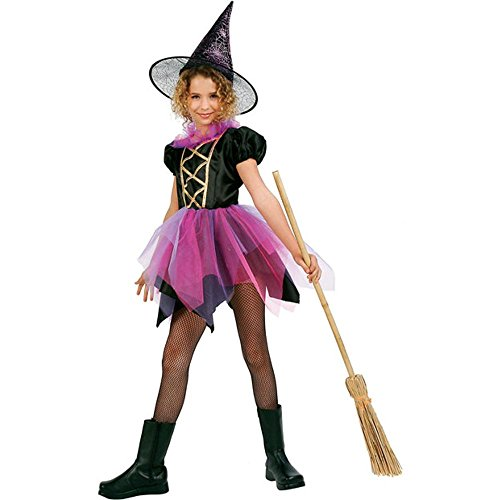 Witch of Fairyland Girls Witch Costume sz Large