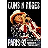 Guns n Roses - Paris 92 (Special Guests Aerosmith & Lenny Kravitz)