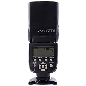 YONGNUO TTL Slave Flash YN565EX II for Speedlite Canon YN-565EX II TTL Flash Speedlite For Canon 6D 7D, 70D 60D, 600D, XSi XTi T1i T2i T3 GN58 LF229