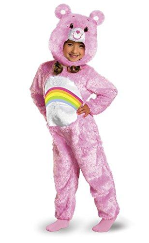 care-bears-cheer-bear-deluxe-plush-costume-pink-rainbow-toddler-medium-3t-4t