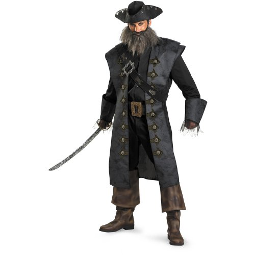 Disguise Inc Men's Pirates Of The Caribbean - Beard Deluxe Adult Costume