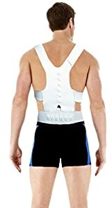 Mens & Ladies Back & Shoulder Posture Correcting Support Strap by Beauty America USA