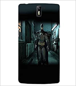 ONE PLUS ONE SUPERHERO Designer Back Cover Case By PRINTSWAG