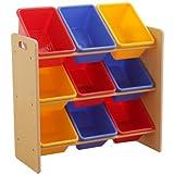 おもちゃ箱 おもちゃ収納 トイハウスラック 3段タイプ