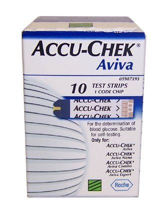 Accu-Chek Aviva Test Strips Pack of 10