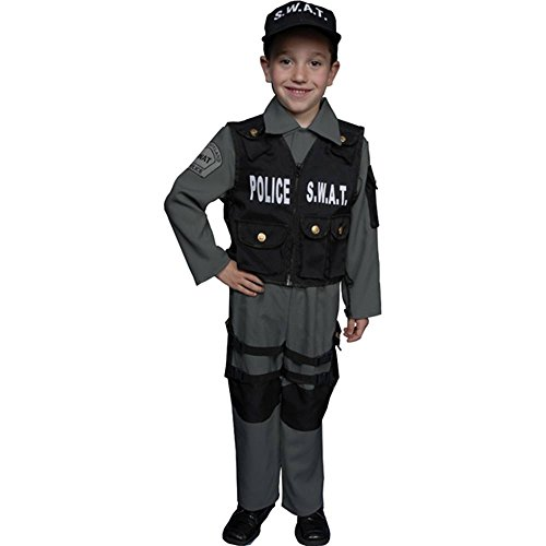 Deluxe S.W.A.T. Officer Toddler Costume