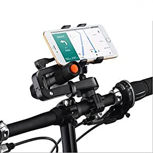 Bicycle Mobile Phone Bracket For, IPhone, Samsung, HTC, NOKIA, Millet, HUAWEI, ZTE And Other Large Screen Smart Phone   Blue available at Amazon for Rs.5765