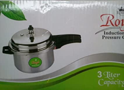 Royal King Aluminium 3 L Pressure Cooker (Induction Base)