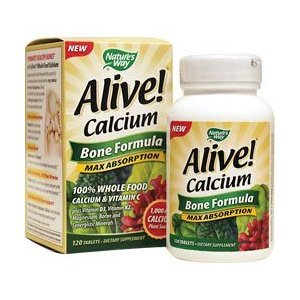 Alive Calcium 120 Count ( Multi-Pack)