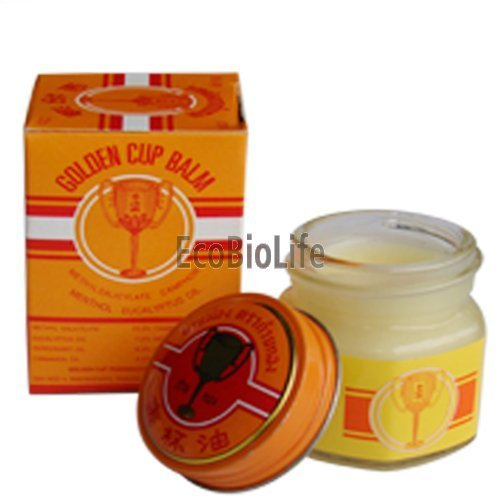 Thailand Golden Cup Balm 22g (3 Pack) (Golden Cup Balm compare prices)