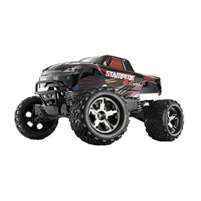 Traxxas 67086-1 Stampede 4X4 VXL: Monster Truck, Ready-To-Race (1/10 Scale), Colors May Vary