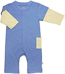 Babysoy Layered One Piece (Baby) - Lake Blue-3-6 Months